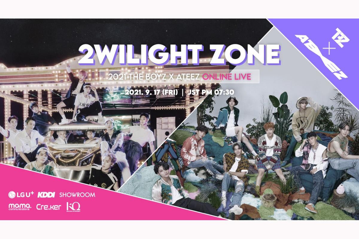 2021THE BOYZ × ATEEZ ONLINE LIVE: 2WILIGHT ZONEライブ動画を無料で見る方法を紹介!